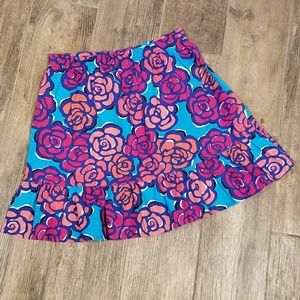 Lilly Pulitzer Bottoms - Lilly Pulitzer girls XL (12-14) floral skirt